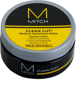 Paul Mitchell Mitch Clean Cut polomatný stylingový krém střední zpevnění