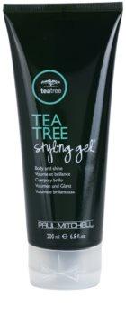 Paul Mitchell Tea Tree Special gel na vlasy pro objem a lesk