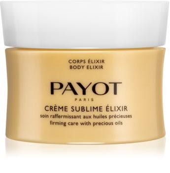 Payot Body Élixir Crème Sublime výživný a zpevňující tělový krém