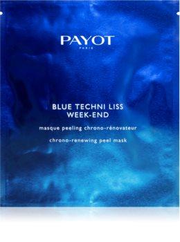 Payot Blue Techni Liss Week-End озаряваща пилинг маска
