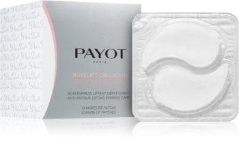 Payot Roselift Collagène Patch Regard feuchtigkeitsspendende Gel-Maske für den Augenbereich mit Kollagen