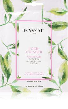 Payot Morning Mask Look Younger liftingová plátenná maska