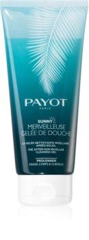 Payot Sunny Merveilleuse Gelée De Douche After Sun Shower Gel for Face, Body and Hair