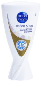 Pearl Drops Coffee & Tea Blekningstandkräm För att behandla mörka fläckar