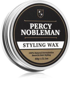 Percy Nobleman Hair Stylingwachs für Haare und Bart