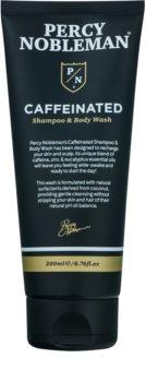 Percy Nobleman Hair Koffein Shampoo für Männer Für Körper und Haar