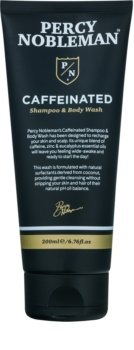 Percy Nobleman Hair Koffein shampoo til mænd til krop og hår
