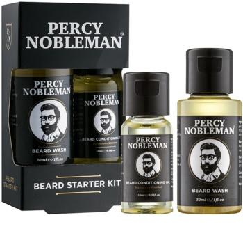 Percy Nobleman Beard Starter Kit козметичен комплект I. за мъже