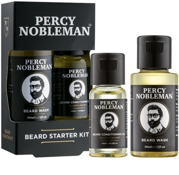 Percy Nobleman Beard Starter Kit lote cosmético I. para hombre