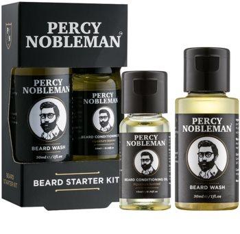Percy Nobleman Beard Starter Kit Sminkset I. för män