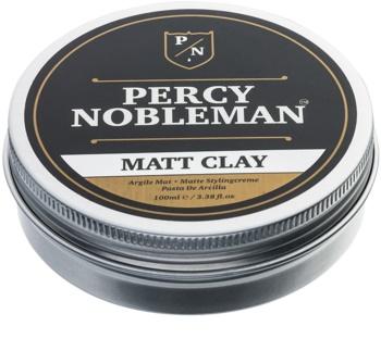 Percy Nobleman Hair Mattierendes Haarwachs mit Ton
