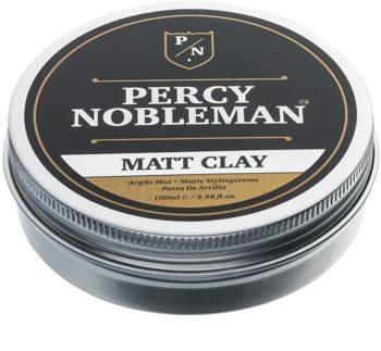 Percy Nobleman Hair матиращ восък за коса с глина