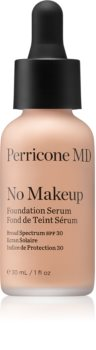 Perricone MD No Makeup Foundation Serum fond de teint liquide anti-imperfections de la peau