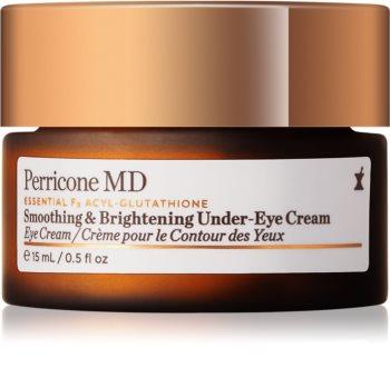 Perricone MD Essential Fx Acyl-Glutathione crema antiarrugas iluminadora para contorno de ojos