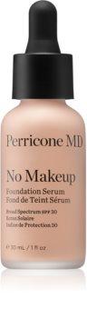 Perricone MD No Makeup Foundation Serum könnyű make-up természetes hatásért