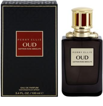 Perry Ellis Oud Saffron Rose Absolute eau de parfum unissexo
