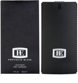 Perry Ellis Portfolio Black eau de toilette pour homme