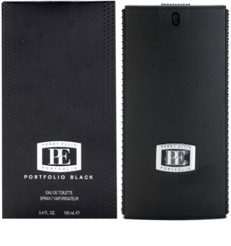 Perry Ellis Portfolio Black toaletna voda za muškarce