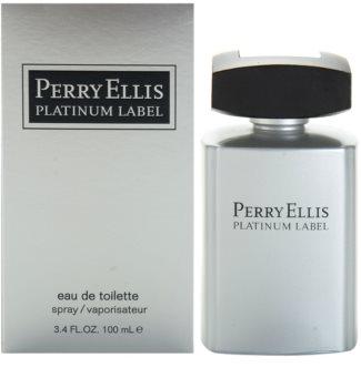 Perry Ellis Platinum Label Eau de Toilette Herren 100 ml