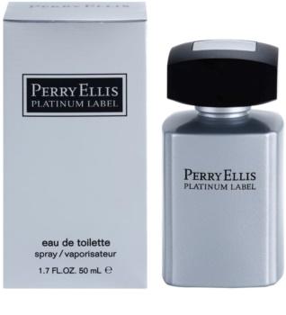 Perry Ellis Platinum Label eau de toilette para hombre 50 ml