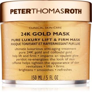 Peter Thomas Roth 24K Gold luxusní zpevňující maska na obličej s liftingovým efektem