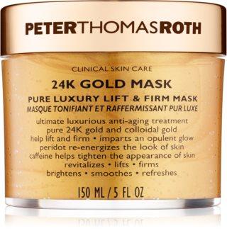 Peter Thomas Roth 24K Gold луксозна стягаща маска за лице с лифтинг ефект