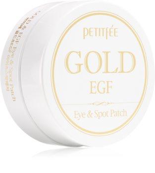 Petitfée Gold & EGF хидрогелова маска за зоната около очите