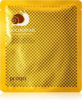 Petitfée Gold & Snail mască intensă cu hidrogel extract de melc