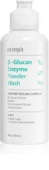 Petitfée Beta Glucan Enzyme pudra de curatare fina cu efect exfoliant