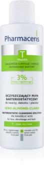 Pharmaceris T-Zone Oily Skin Sebo-Almond-Claris reinigendes Wasser für fettige und problematische Haut