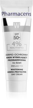 Pharmaceris W-Whitening Melacyd crema blanqueadora  contra problemas de pigmentación