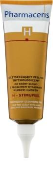 Pharmaceris H-Hair and Scalp H-Stimupeel peeling proti lupům a vypadávání vlasů