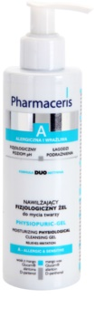 Pharmaceris A-Allergic&Sensitive Physiopuric-Gel gel de limpeza micelar para pele sensível e alérgica