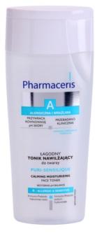 Pharmaceris A-Allergic&Sensitive Puri-Sensilique lotion tonique hydratante à l'acide hyaluronique