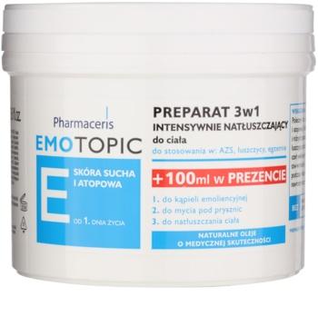 Pharmaceris E-Emotopic trattamento intensivo all'olio corpo per bambini e adulti 3 in 1