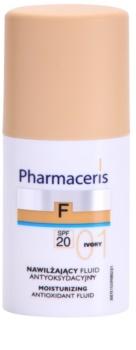 Pharmaceris F-Fluid Foundation maquillaje hidratante SPF 20