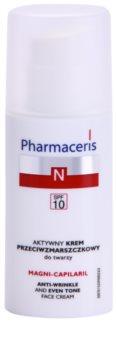 Pharmaceris N-Neocapillaries Magni-Capilaril creme antirrugas nutritivo SPF 10