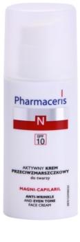 Pharmaceris N-Neocapillaries Magni-Capilaril Nourishing Age Defying Cream SPF 10