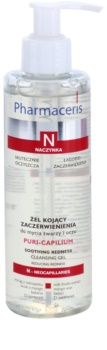 Pharmaceris N-Neocapillaries Puri-Capilium Soothing Cleansing Gel For Sensitive And Reddened Skin