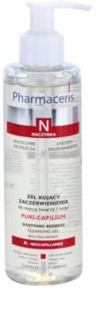 Pharmaceris N-Neocapillaries Puri-Capilium umirujući gel za čišćenje za osjetljivu i crvenu kožu lica