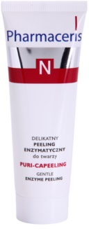 Pharmaceris N-Neocapillaries Puri-Capeeling peeling enzimático para pele desgastada