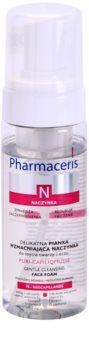 Pharmaceris N-Neocapillaries Puri-Capiliqmousse mousse struccante detergente per capillari dilatati e rotti