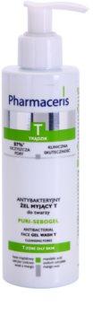Pharmaceris T-Zone Oily Skin Puri-Sebogel čisticí gel pro problematickou pleť, akné