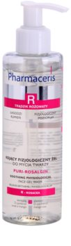 Pharmaceris R-Rosacea Puri-Rosalgin gel detergente lenitivo per pelli sensibili con tendenza all'arrossamento