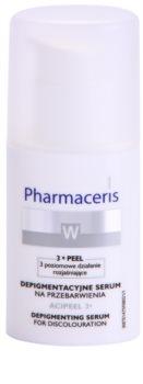 Pharmaceris W-Whitening Acipeel 3x sérum correcteur éclaircissant anti-taches pigmentaires à la vitamine C