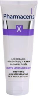 Pharmaceris X-Rays - Skin After Radiotherapy X-Rays Liposubtilium crema regeneradora y calmante para rostro y cuerpo