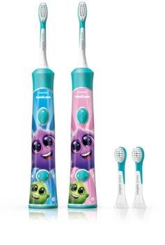 Philips Sonicare For Kids HX6322/04 sonický elektrický zubní kartáček pro děti s Bluetooth