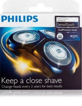 Philips SensoTouch DualPrecision Heads RQ11/50 náhradné holiace hlavy