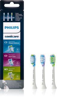 Philips Sonicare Premium Combination Standard Replacement Heads For Toothbrush