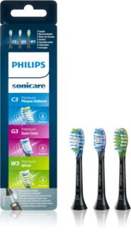 Philips Sonicare Premium Combination Standard HX9073/33 Replacement Heads For Toothbrush